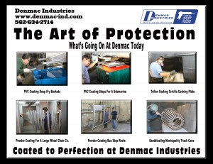 Coating at Denmac Industries on 10/10/13