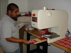 Pad Printing - Denmac Industries